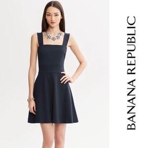 Banana Republic • Milly Collection Navy Dress Sz 8
